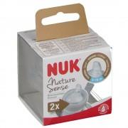MAPA GmbH Nuk® Nature Sense Silikon-Trinktülle 6-18 M.
