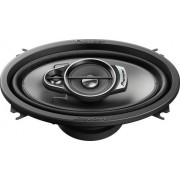"""Pioneer - 4"""" x 6"""" 3-Way Car Speaker with Carbon and Mica Reinforced IMPP Cones - Moonstone Gray"""