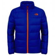 The North Face Andes Boys Down Jacket Monster Blue Dunjacka Barn