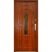 Drzwi stalowe z przeszkleniem JAMAJKA
