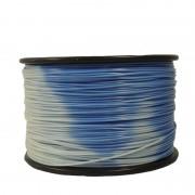 Filament care isi Schimba Culoarea la Temperatura 1.75 mm 1 kg - din Albastru in Alb