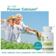 Forever Calcium - minerali misti, Vitamina C+D, Forever Living Products