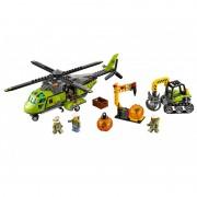 Elicopter de aprovizionare la vulcan 60123 LEGO City