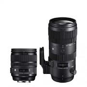 Fujifilm Sigma Paquete Lentes 24-70mm F2.8 + 70-200mm F2.8 Montura Canon