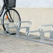 ProSignalisation Support à places décalées pour 6 vélos - Procity®