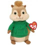Ty toys Beanie Baby Theodore Chipmunk (Alvin and the Chipmunks)