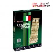 Cubicfun Turnul din Pisa Italia Puzzle 3D 13 piese