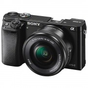 Sony Alpha A6000 with 16-5mm + 55-210mm Interchangeable Lens Digital Camera (PAL) - Black