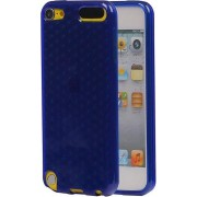 BestCases.nl Apple iPod Touch 5 / 6 Diamant TPU back case hoesje Donker Blauw