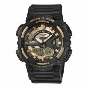 reloj digital analogico estandar casio AEQ-110BW-9A - oro negro (sin caja)