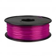 Filament pentru Imprimanta 3D 1.75 mm PLA 1 kg - Violet Transparent