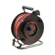 Prelungitor electric pe tambur de plastic 25m cablu PVC 3x1,5 mm²