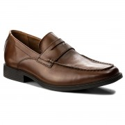 Обувки CLARKS - Tilden Way 261315767 Tan Leather