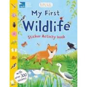 RSPB My First Wildlife Sticker Activity Book, Paperback