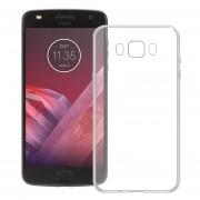 Funda Para Motorola Xt1710 Moto Z2 Play Silicon TPU - Transparente