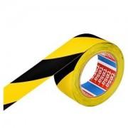 Banda adeziva de marcare 100mm x 33m galben/negru Tesa