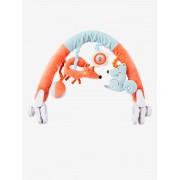 VERTBAUDET Arco para carrinho de bebé, Raposa laranja medio liso com motivo
