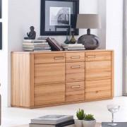 Wohnzimmer Sideboard aus Kernbuche Massivholz 160 cm breit