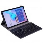 Shop4 - Samsung Galaxy Tab S6 Toetsenbord Hoes - Bluetooth Keyboard Cover Business Zwart