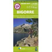 Wandelkaart 04 Bigorre | Rando Editions