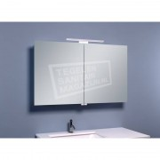 Schulz Large Luxe Spiegelkast met LED Verlichting (100x60x14 cm)