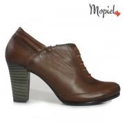 Pantofi dama din piele naturala 245008/5008/Maro