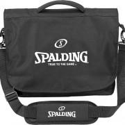 Spalding Sporttasche MESSENGER BAG - schwarz