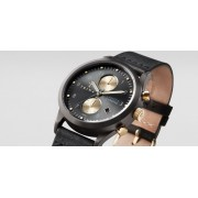 TRIWA Walter Lansen Chrono Watch Black