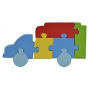 Skillofun Wooden Take Apart Puzzle Large - Truck, Multi Color