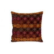 Dutch Bone Ottawa Red and Orange Cushion