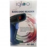 Igloo AF-06 laser barcode reader