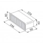 Grilaj exterior Franke 112.0040.375