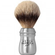 Mondial Antica Barberia Super Badger Silberspitz Rasierpinsel