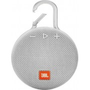 Jblclip3wht Clip 3 - Cassa Bluetooth Speaker Portatile Altoparlante Impermeabile Ipx7 Potenza Rms 3.3 Watt Usb Colore Bianco - Jblclip3wht