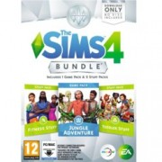 The Sims 4 Bundle - Jungle Adventure, Fitness Stuff, Toddler Stuff, за PC