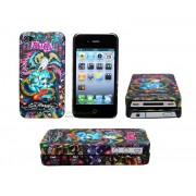iPhone 4/4S serie ED Hardy - Snake & Scull