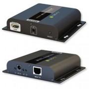 Techly Extender HDMI HDbitT 4K UHD con IR su Cavo Cat.6 fino a 120m