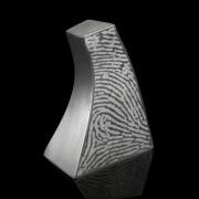 Pewter urn in edelstaal 24x15cm + vingerafdruk (3000ml)