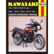 Haynes Kawasaki 400, 500 et 550 Fours (79 - 91) 0910