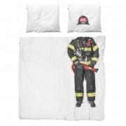 Snurk Brandweerman dekbedovertrek 200x220