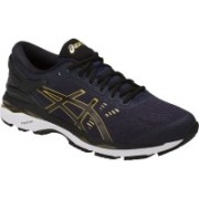 Asics GEL - KAYANO 24 - PEACOAT/BLACK/RICH GOLD Running Shoes For Men(Blue)