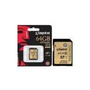 Cartao De Memoria Classe 10 Kingston Sda10/64gb Secure Digital Ultimate Sdxc 64gb Uhs-I