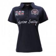 Marine Polo Piquet, navy, small
