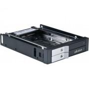 Lokstor M21 előlapi HDD kombó rack