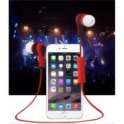 Audífonos Bluetooth Estéreo HD Manos Libres Deportivos, BT-49 Sin Hilos Audifonos Bluetooth Manos Libres En El Receptor De Cabeza Del Funcionamiento Del Auricular Del Auricular (rojo)