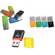 2 Piece USB Card Reader for Micro SD Cards