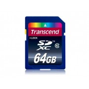 Transcend TS64GSDXC10 memoria flash