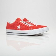 Converse One Star Ox In Red - Size 36
