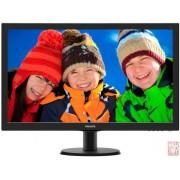 "27"" Philips 273V5LHAB, LED, 16:9, 1920x1080, 5ms, 1000:1, 300cd/m2, VGA/DVI/HDMI, black"