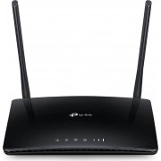 TP-Link Tl-Mr6400 Modem Router Wifi Wireless Wan Slot Per Scheda Sim 3g / 4g Lte Lan 10/100 Mbits 2 Antenne Colore Nero - Tl-Mr6400